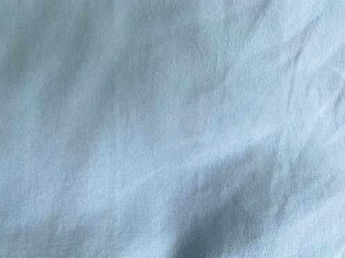 Organic Cotton Interlock Knit- Pale Sky- Solid- Birch Fabrics