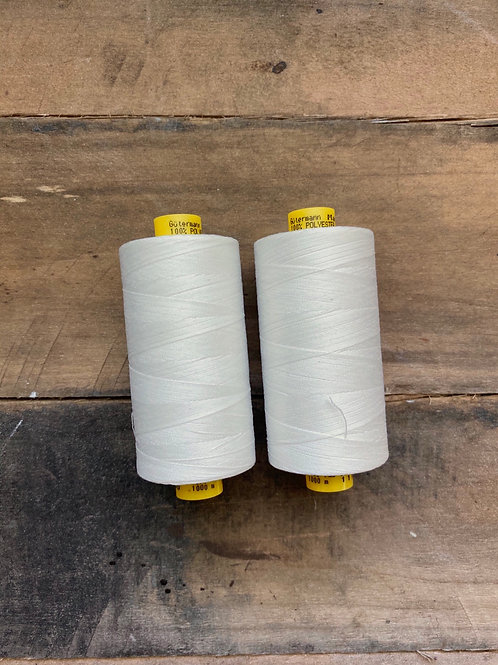 Gutermann Mara 100 rPet- Off White- Recycled Polyester Thread