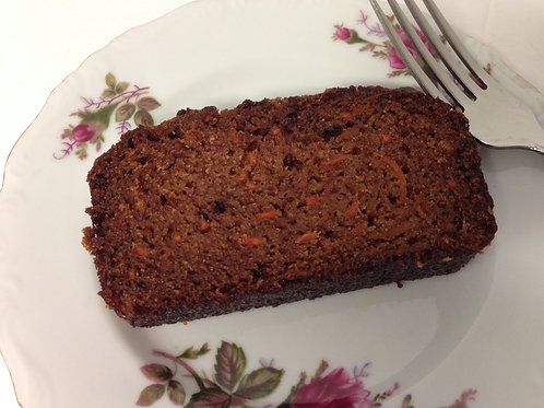 carrot bread slice by simply sweet shop