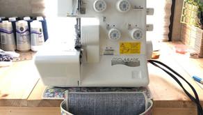 How to Make a Serger Thread Catcher