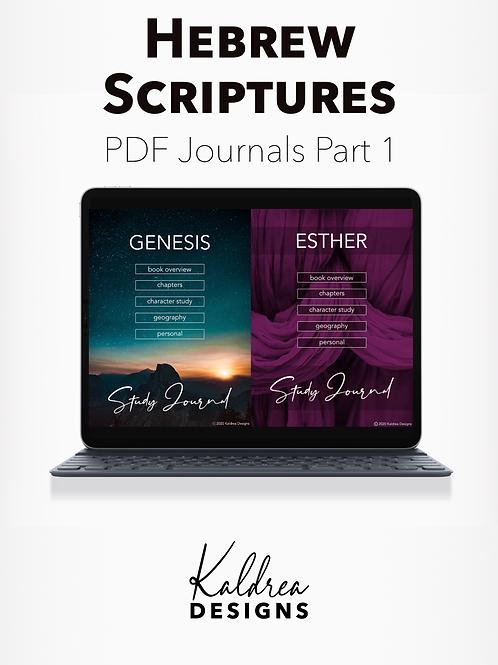 Genesis-Esther Bible Study Journals PDF