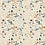 Beige Floral Art Gallery Fabrics- Linen Ditsy Floral- by the half yard