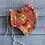 Thumbnail: LARGE Mask Orange Safety First CUSTOM PRINT
