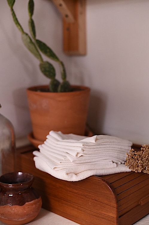 Organic Cotton Hemp Unpapertowels Sustainable Living