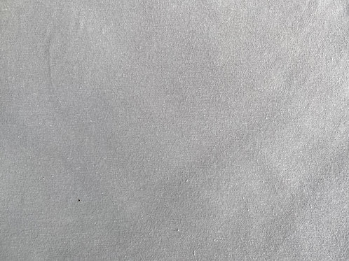 Organic Cotton Jersey Knit- Solid Gray- Monaluna- by the half yard