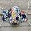 Thumbnail: LARGE Mask ASL Coral Blue CUSTOM PRINT