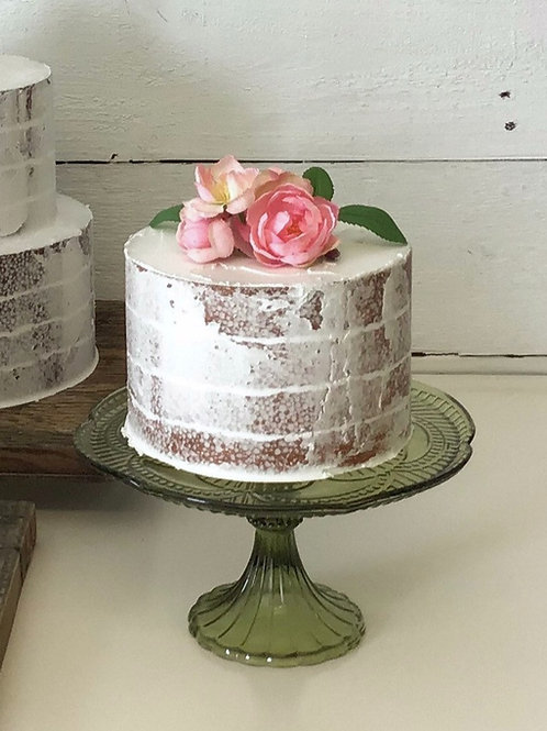 fake cake one tier naked finish by simply sweet shop