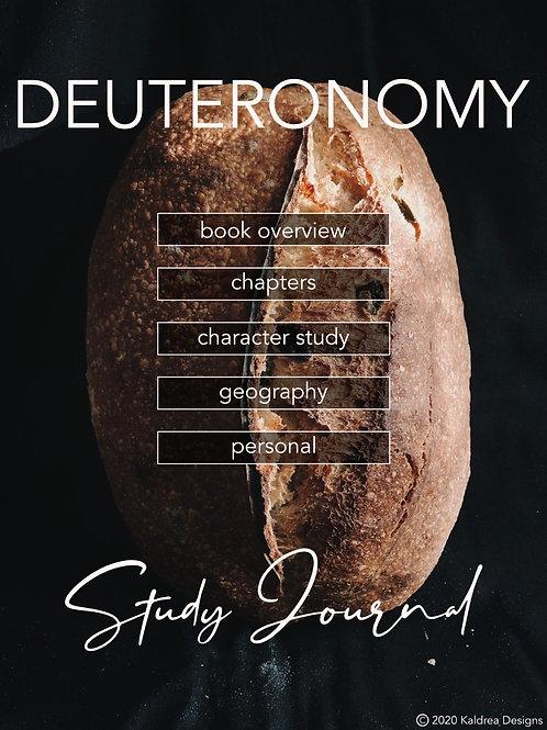 Deuteronomy Study Journal PDF with hyperlinks