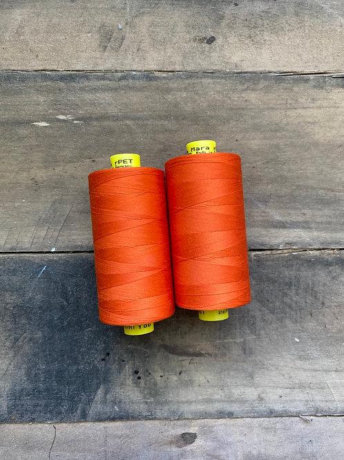 Recycled Polyester Thread- Gutermann Mara 100 rPet-Orange