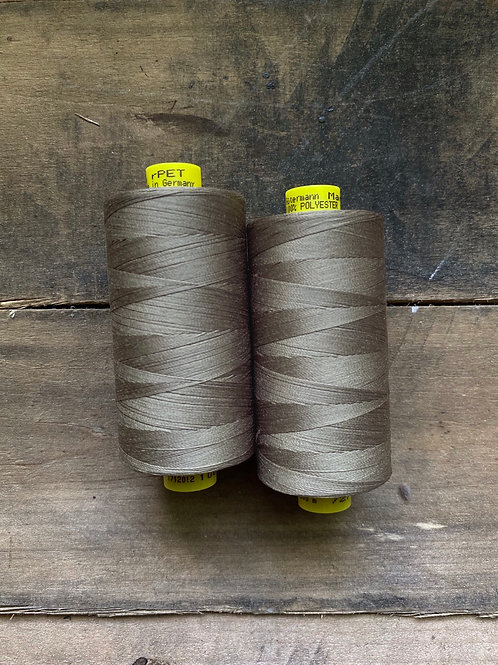 Recycled Polyester Thread- Gutermann Mara 100 rPet- Taupe Grayish Brown