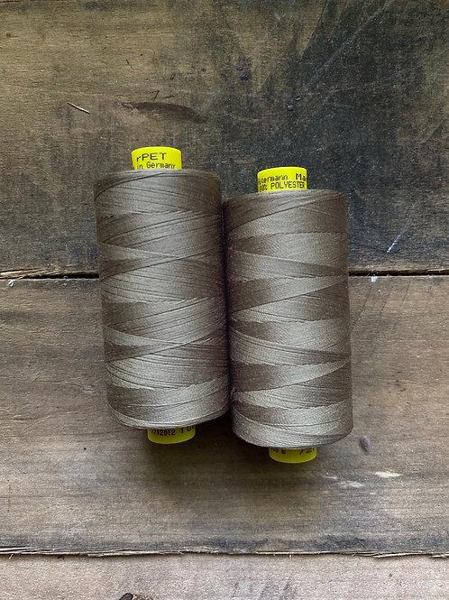 Recycled Polyester Thread- Gutermann Mara 100 rPet- Taupe Grayish Brown