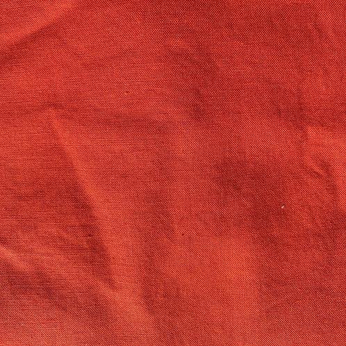 Burnt orange Kona Cotton Face Mask