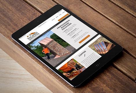 Website design by Andrea Nicole Virtual Assistant LLC for Kaldrea Construction
