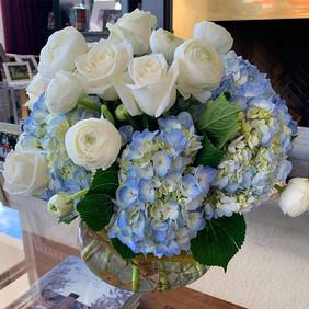 Sky blue  feels good  #flowersforyourhom