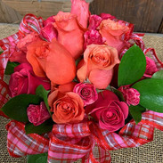 Roses to Dry For- a classic look that drys in place-