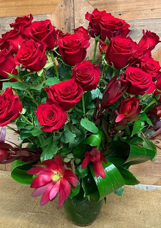 48 red roses ❤️