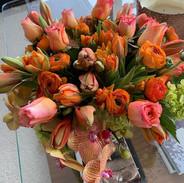 Love this color combination.  #flowersfo