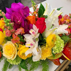 Open for best of day arrangements  curb