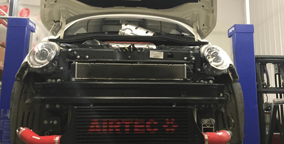 Airtec Intercooler Upgrade Kit Fiat 500 Abarth 1.4T (Automatic)