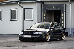 Audi RS4 B5 hybrid turbo