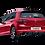 Thumbnail: Akrapovič carbon fibre rear diffuser Volkswagen Golf 7 GTI / GTI Clubsport