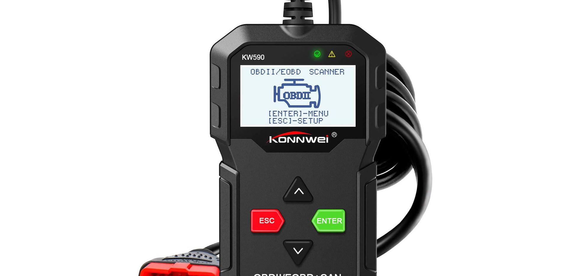 Konnwei KW590 OBD 2 Scanner   Auto Diagnose