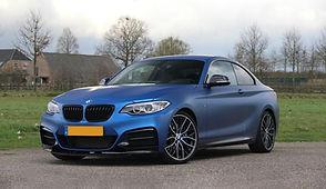 BMW 235i hybrid turbo