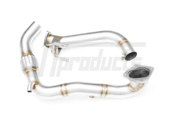 """Downpipe 2.5"""" decat VW Scirocco MK3 1.4 TSI"""