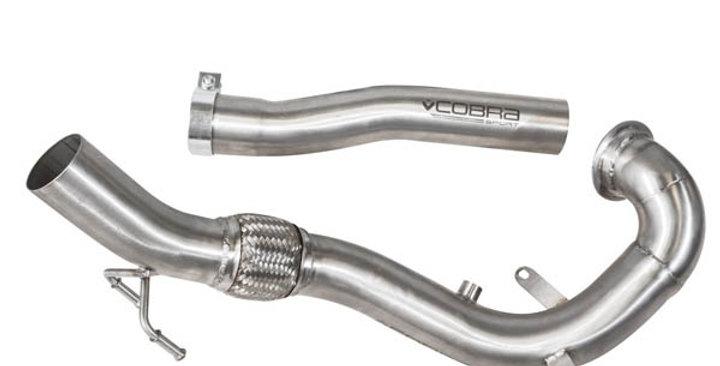 """Cobra Downpipe 3"""" Decat Polo GTI 6C, Ibiza Cupra 6P 1.8 TSI"""