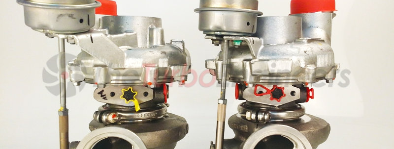 TTE850M + upgrade turbocharger for BMW M5 / M6 F10 / F12 / F13