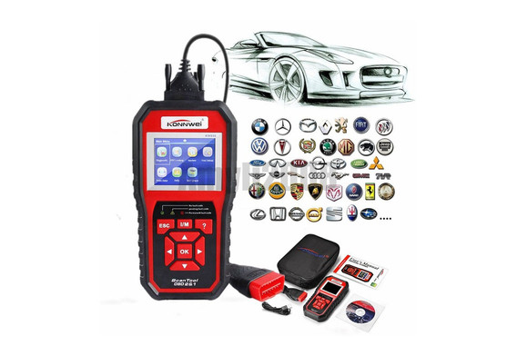 Konnwei kw850 OBD 2 Scanner | Auto Diagnose