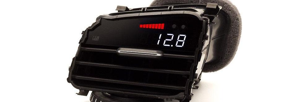 P3 Gauge Digital Ventilatie rooster Meter for Golf 7 GTI / Golf 7 R