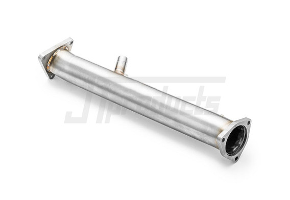 "Downpipe 2.5"" decat / sports cat Audi A6 C6 Avant 2.0 TDI"