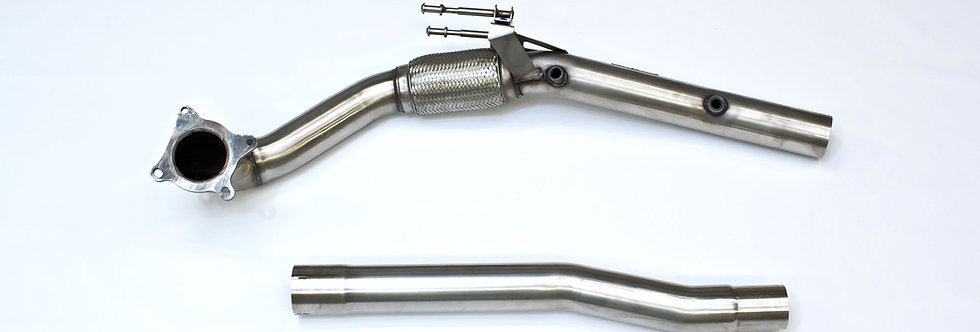 "Milltek Downpipe Large Bore Decat 3"" VAG 2.0 TFSI (Golf 6R, S3 8P) SSXAU284"