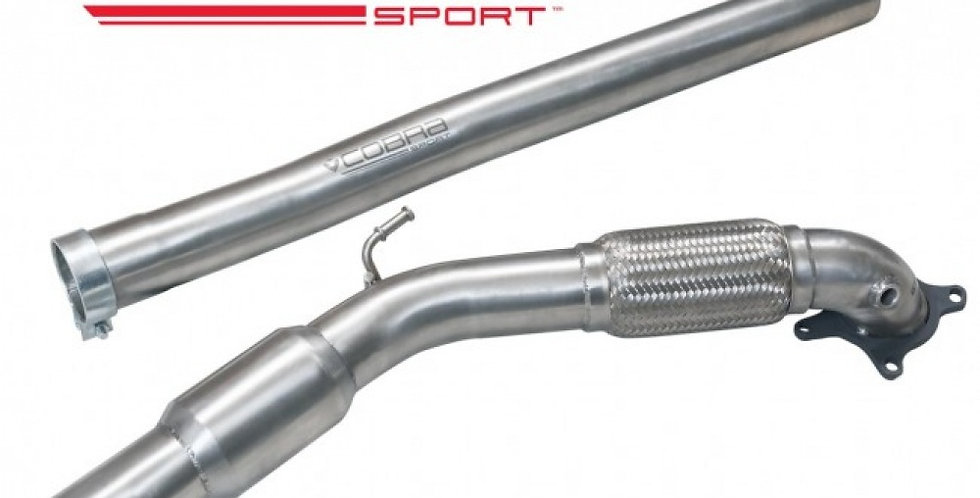"Cobra Downpipe Race cat 3"" VAG 2.0 TFSI (Golf 5/6 GTI, A3 8P, Leon 1P)"