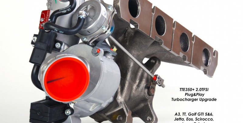 TTE350+ upgrade turbo for VAG 2.0 TFSi
