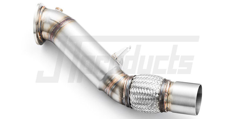"Downpipe 3.5"" decat BMW B48"