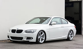 BMW 335i hybrid turbo
