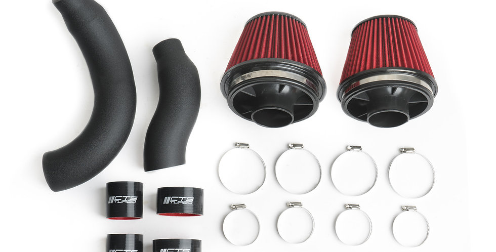 "CTS Air intake Dual 3"" Audi C7 4.0 TFSI (RS6, S6, RS7, S7)"