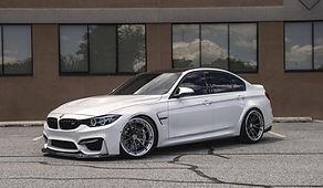 BMW M3 hybrid turbo