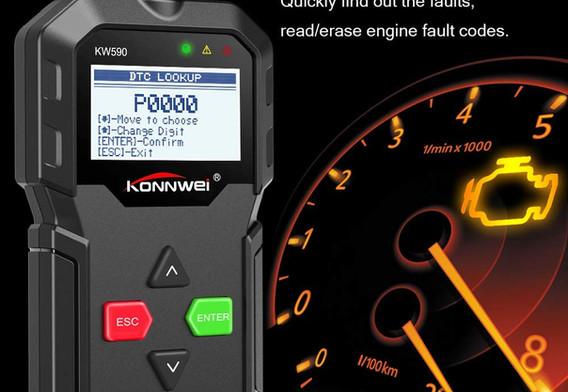 Konnwei KW590 OBD 2 Scanner | Auto Diagnose
