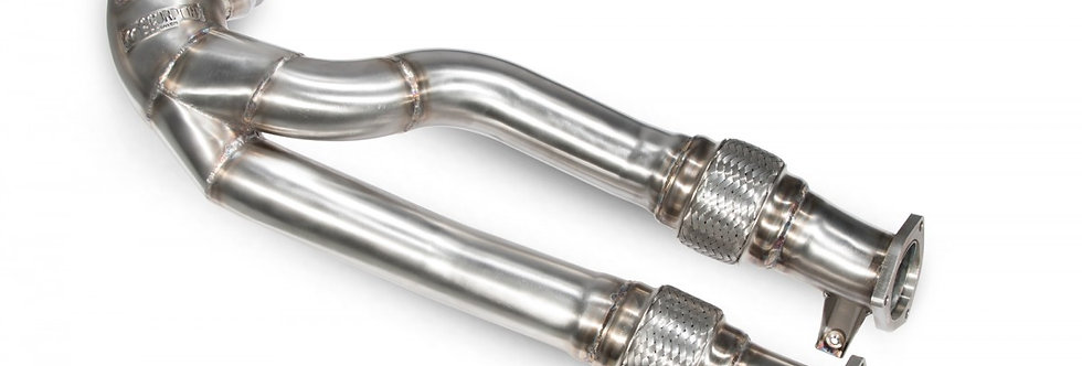 """Scorpion Exhaust downpipe 2.75"""" decat Audi RS3 8V 2.5 TFSI (Pre-Facelift)"""
