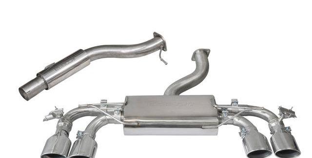Cobra Sport catback (non-)resonated VW Golf 7 R 2.0 TSI (klepsysteem optioneel)