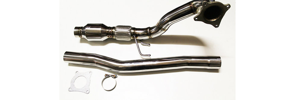 """Downpipe Race Cat 200cell 3"""" VAG 2.0 TFSI (Golf 6R, S3 8P)"""