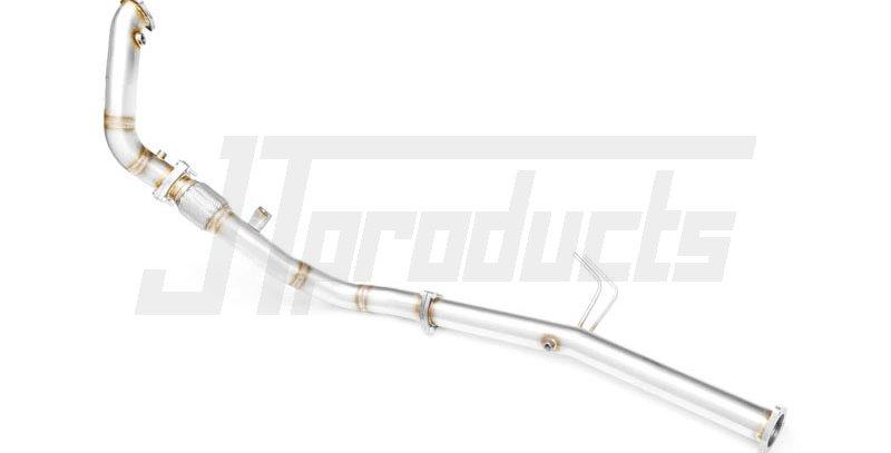 """Downpipe 2.5"""" decat / roetfilter delete Audi A4 B7 2.7, 3.0 TDI"""