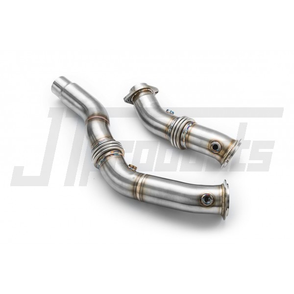 "Downpipe decat 3"" BMW S55 M3, M4"