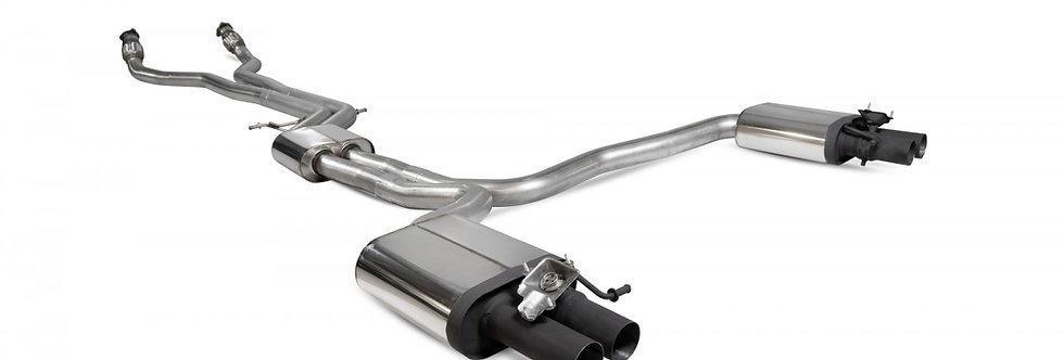 Scorpion Exhaust catback system Audi RS6 C7 4.0 TFSI Bi-turbo Quattro