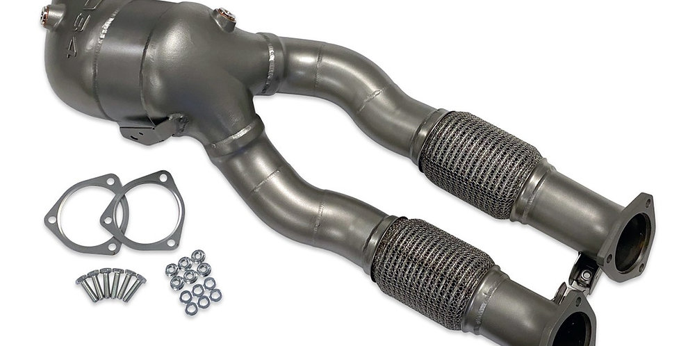 034 Motorsport decat downpipe Audi RS3 8.5V / TT RS 8S 2.5 TFSI (Non-GPF)