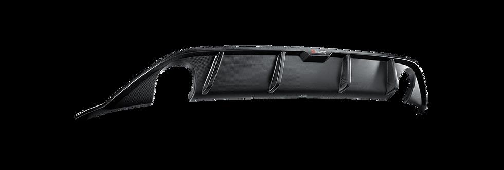 Akrapovič carbon fibre rear diffuser Volkswagen Golf 7 GTI / GTI Clubsport