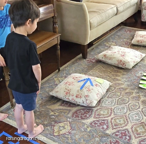 Indoor Obstacle Course for Kids